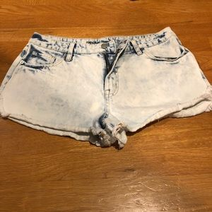 Mossimo Jean Shorts Size 12